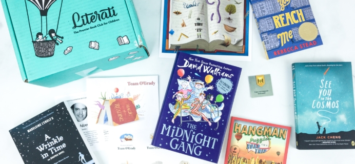 Literati Club Phoenix Box Review + Coupon – July 2019 Welcome Box
