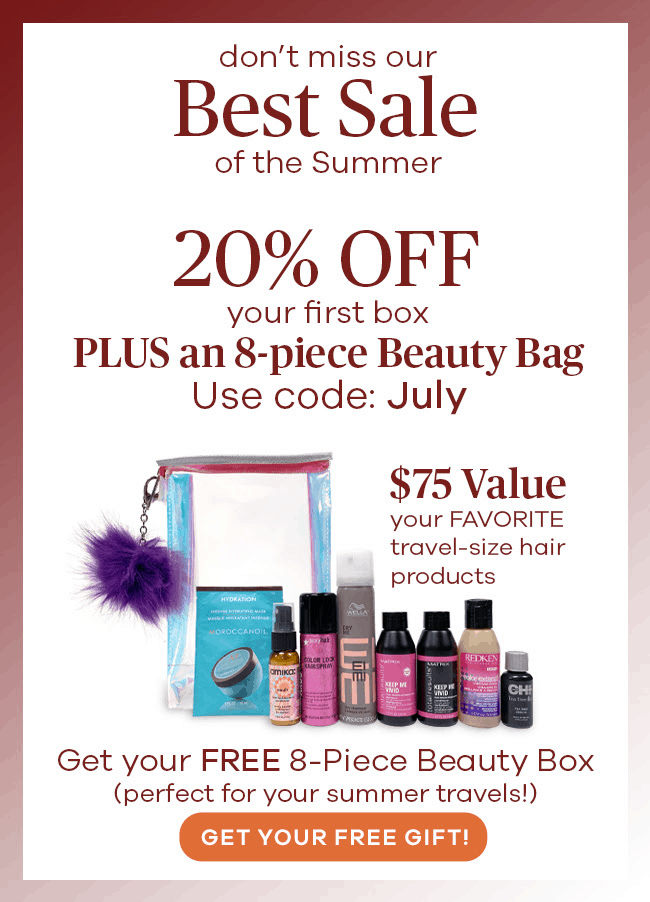 VineOh! Box Summer Sale: Get 20% OFF + Free Beauty Box!