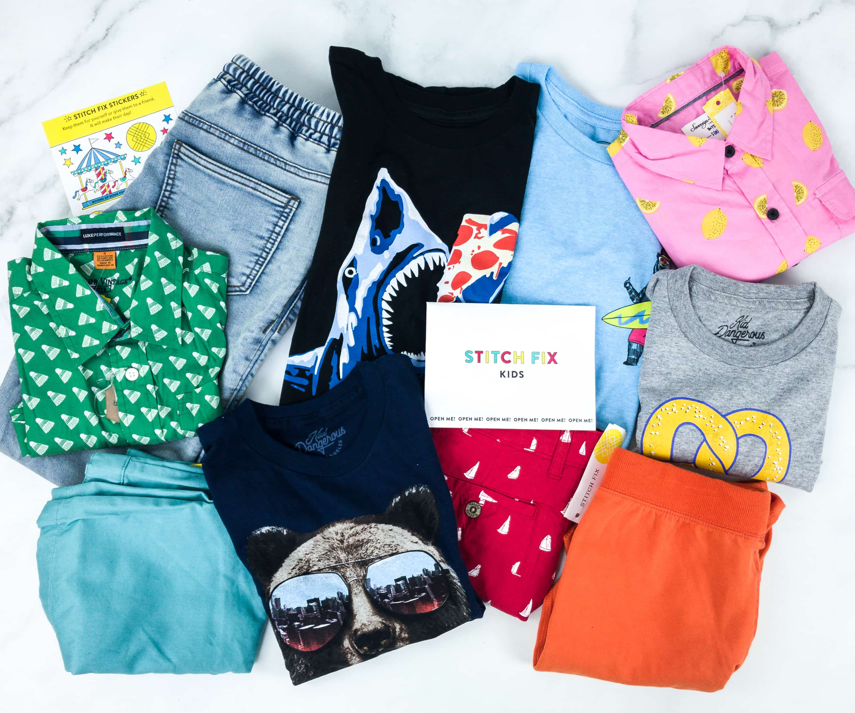 Stitch Fix Kids July 2019 Boys Review