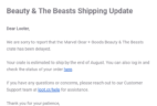 Loot Crate Marvel Gear + Goods July 2019 Shipping Update