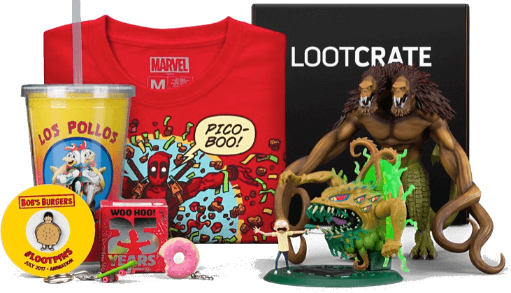 Loot Crate Subscriptions Update!