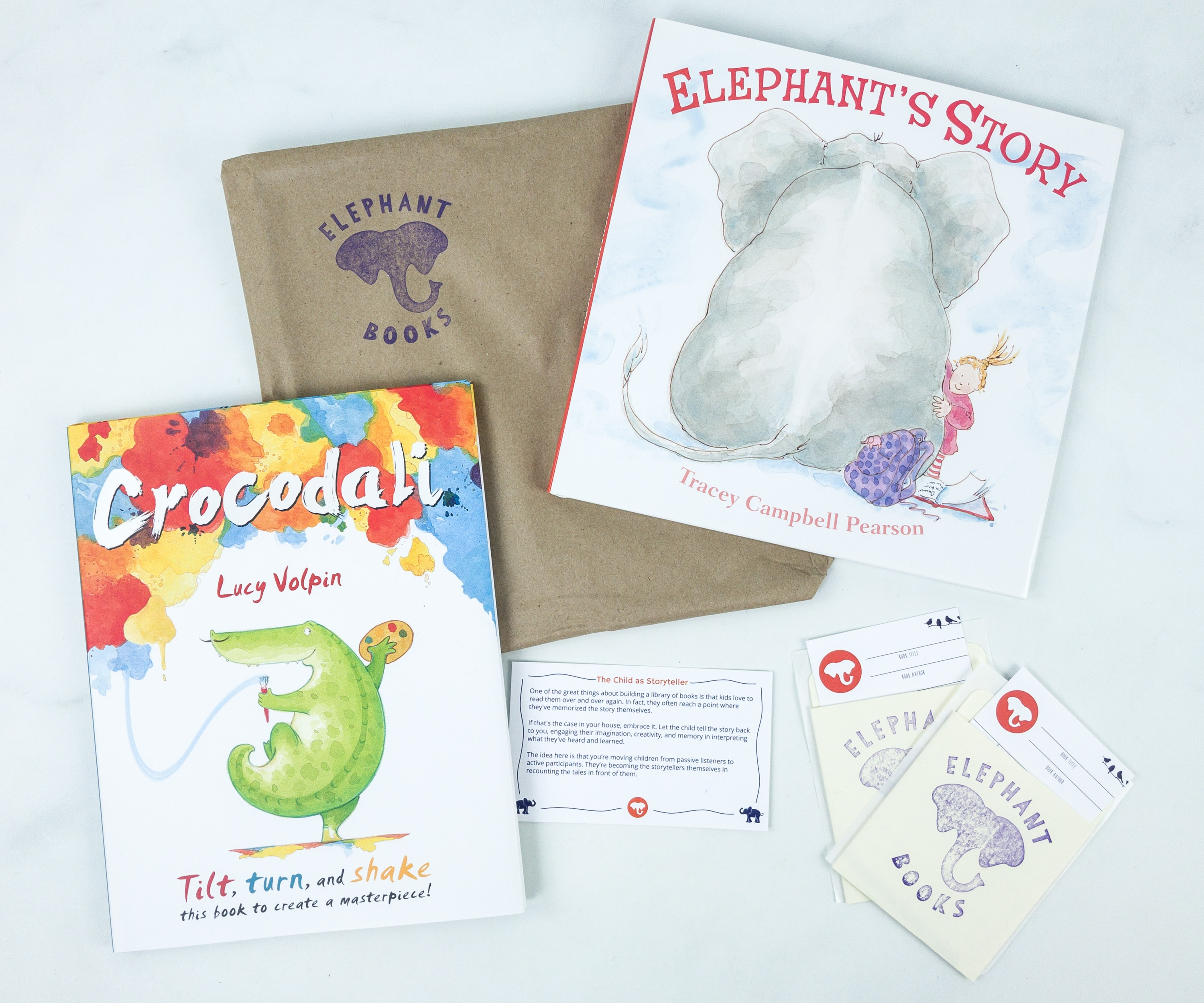 Elephant Books August 2019 Subscription Box Reviews – PICTURE BOOKS