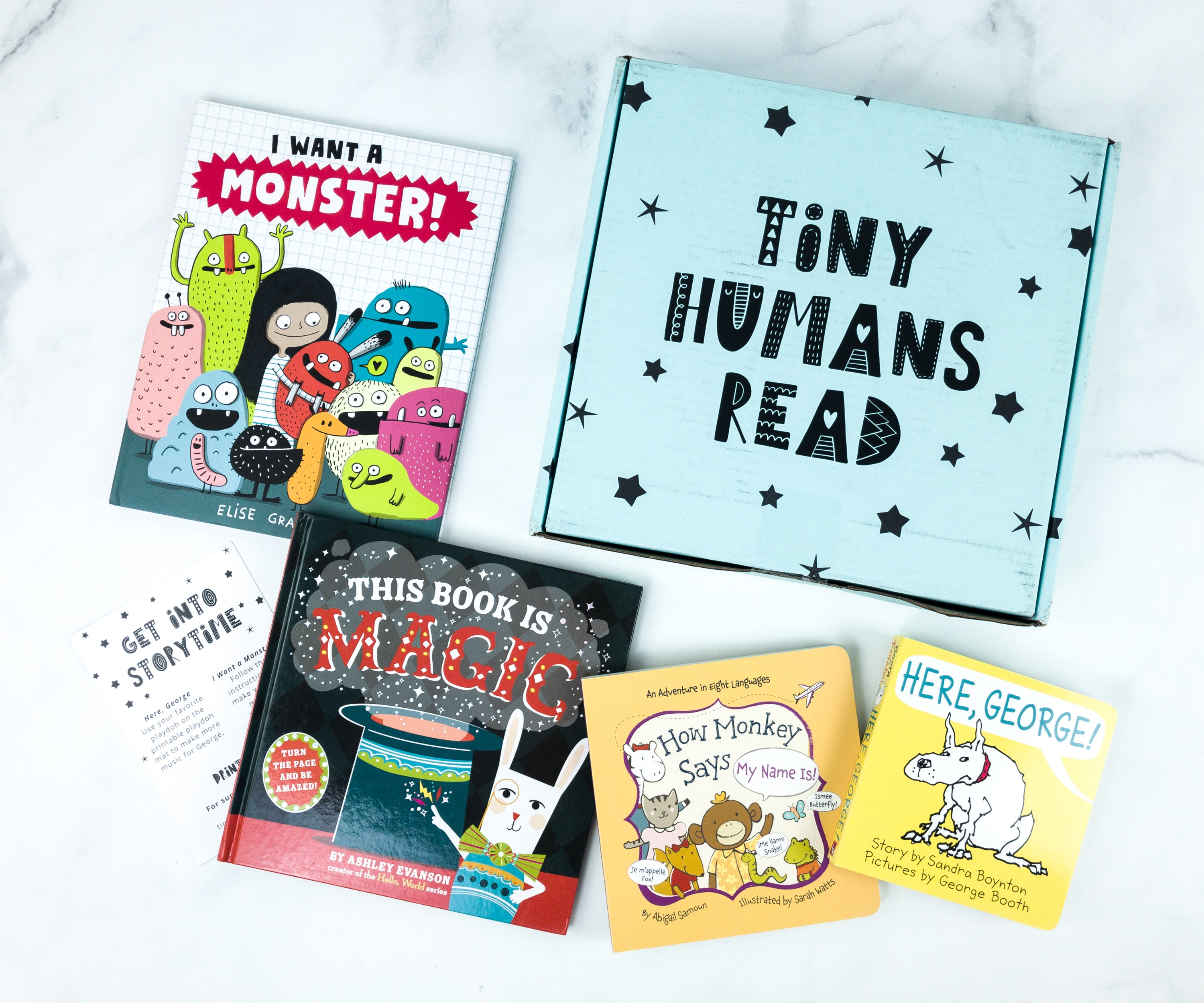Tiny Humans Read July 2019 Subscription Box Review + Coupon