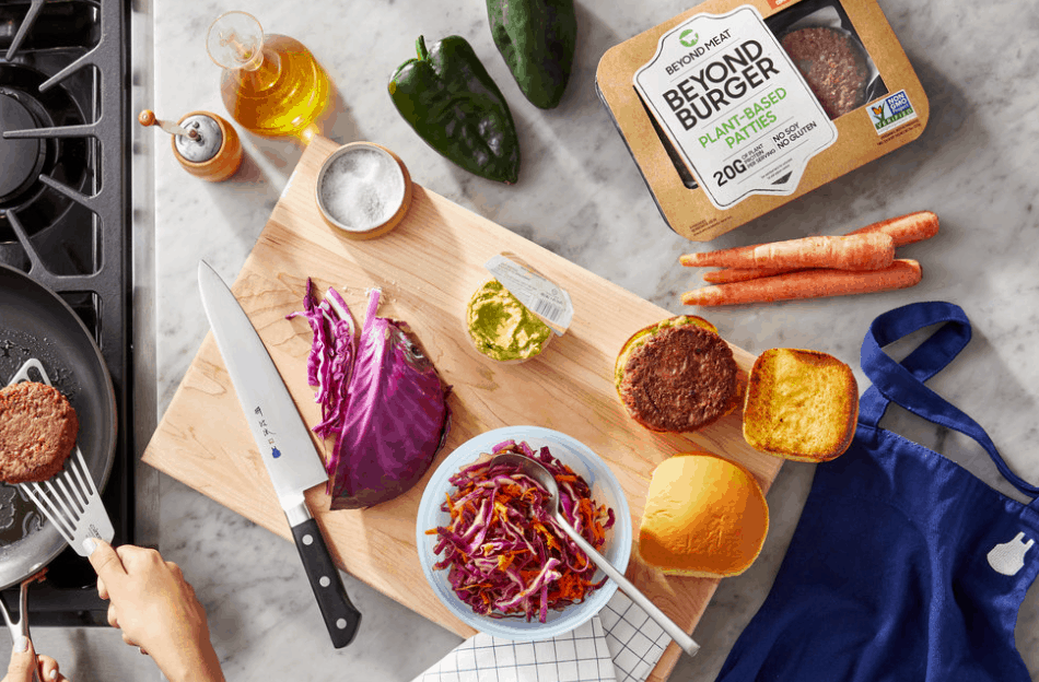 Blue Apron x Beyond Burger Available Now + $60 Off Coupon!