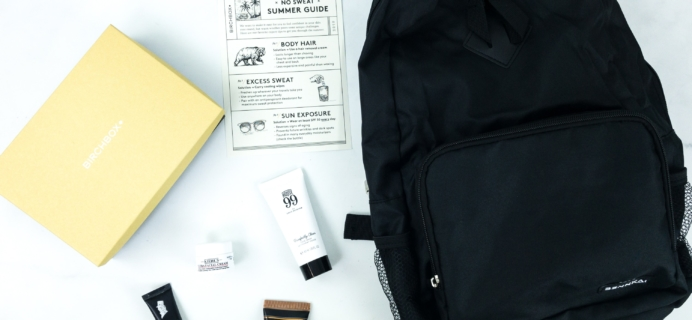 Birchbox Grooming August 2019 Subscription Box Review & Coupon