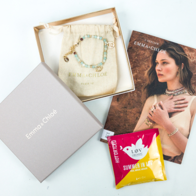 Emma & Chloe July 2019 Subscription Box Review + Coupon