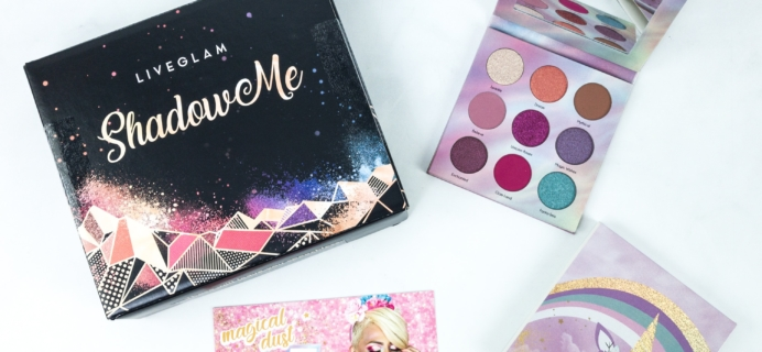 LiveGlam ShadowMe August 2019 Review + Coupon