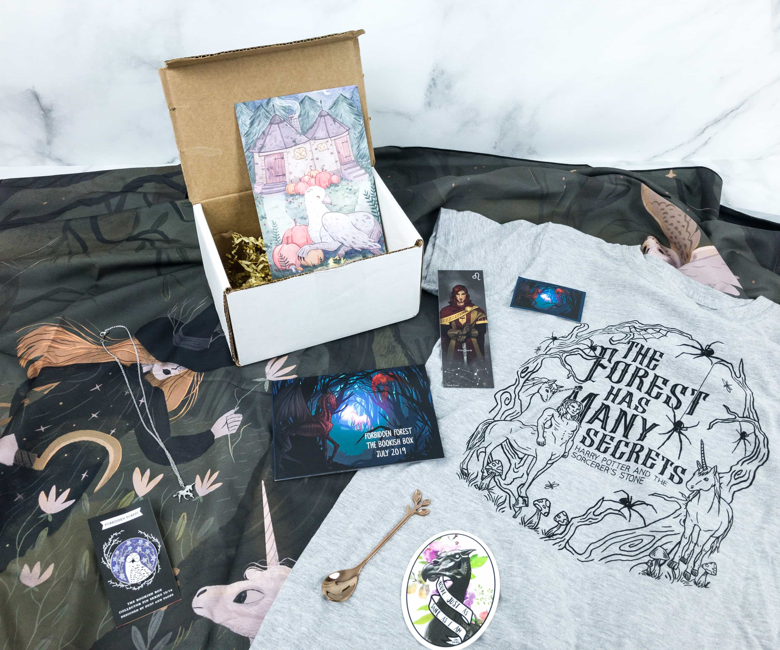 The Bookish Box July 2019 Subscription Box Review + Coupon