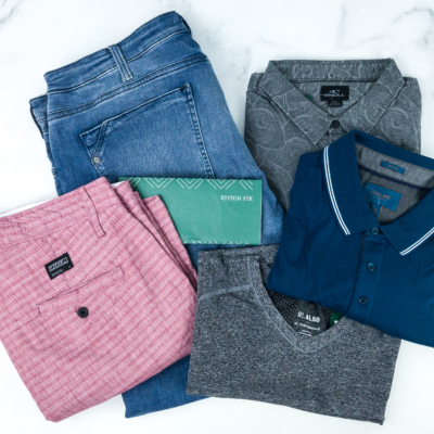 Stitch Fix Men August 2019 Review