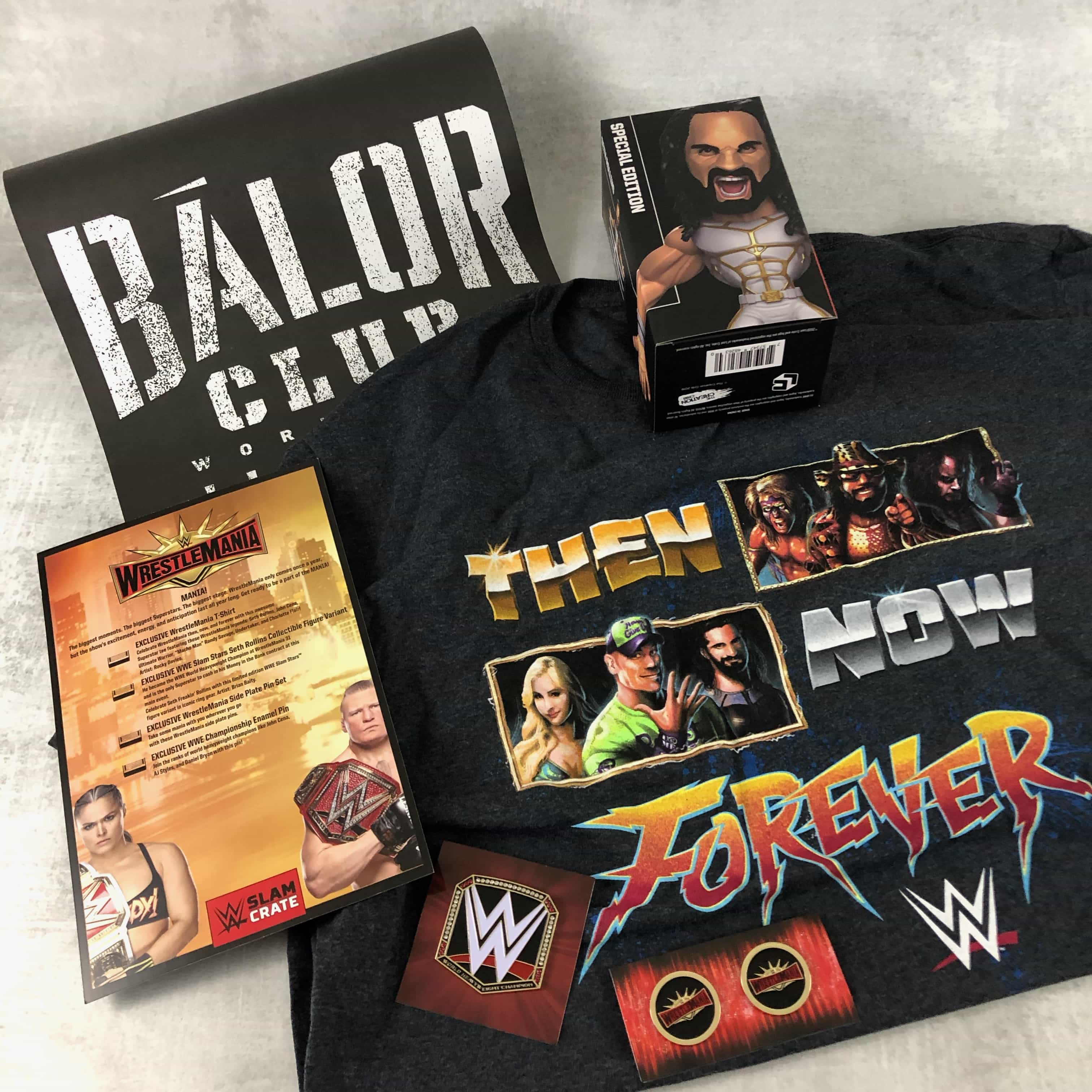 WWE Slam Crate April-May 2019 Subscription Box Review + Coupon