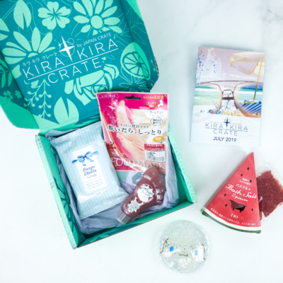 Kira Kira Crate July 2019 Subscription Box Review + Coupon