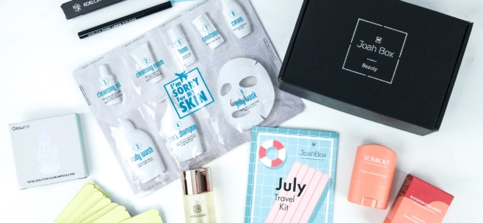 JoahBox July 2019 Subscription Box Review + Coupon