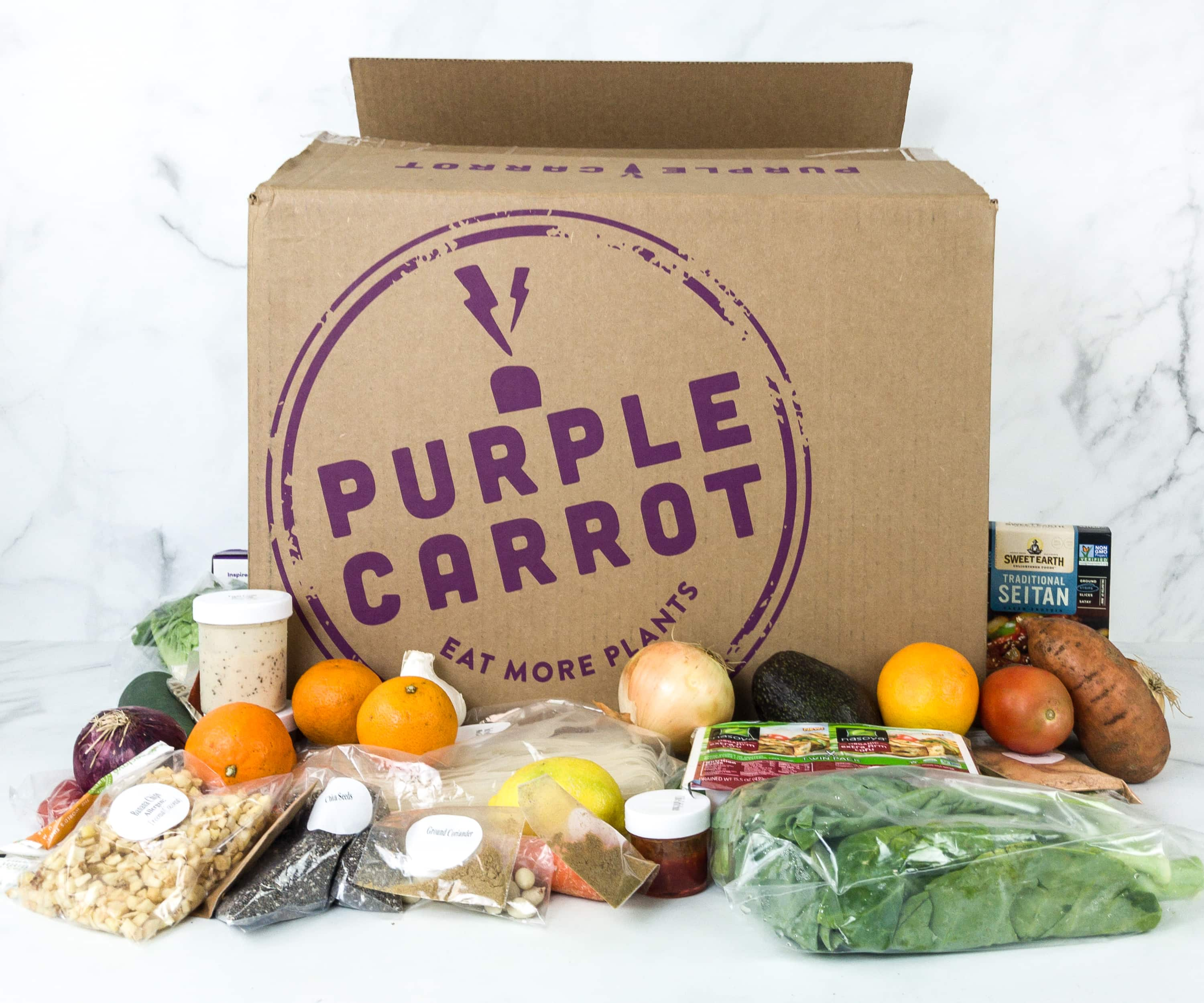The Purple Carrot July 2019 Subscription Box Review + Coupon