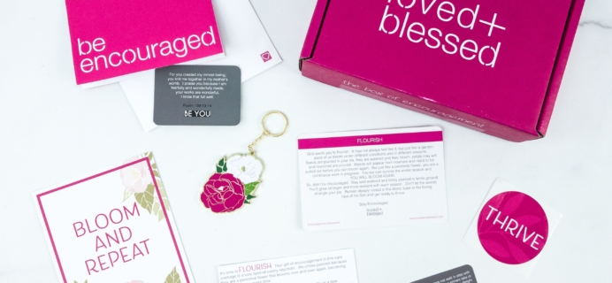 Loved+Blessed August 2019 Subscription Box Review + Coupon