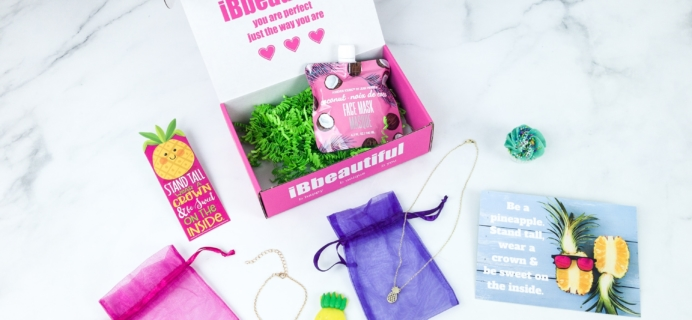 iBbeautiful August 2019 Tween Subscription Box Review