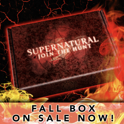 Supernatural Box Fall 2019 Spoiler #1!