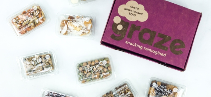 August 2019 Graze Variety Box Review & Free Box Coupon