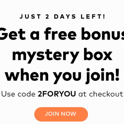 Birchbox Man Coupon: FREE Bonus Mystery Box!