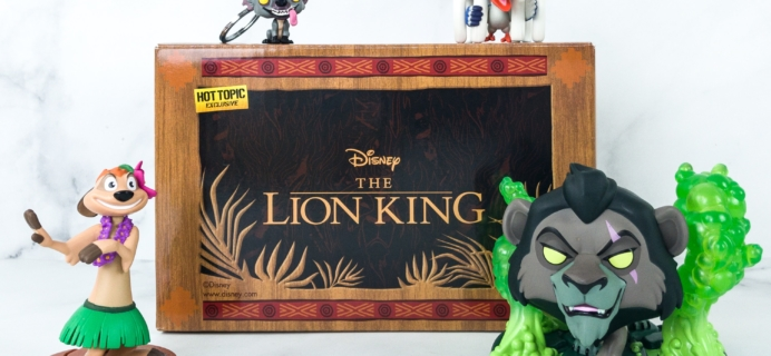 Disney Treasures June 2019 Box Review – LION KING