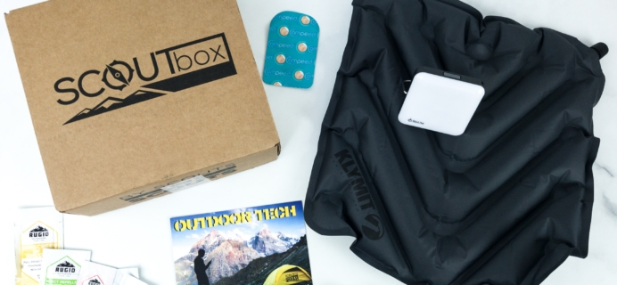 SCOUTbox July 2019 Subscription Box Review + Coupon