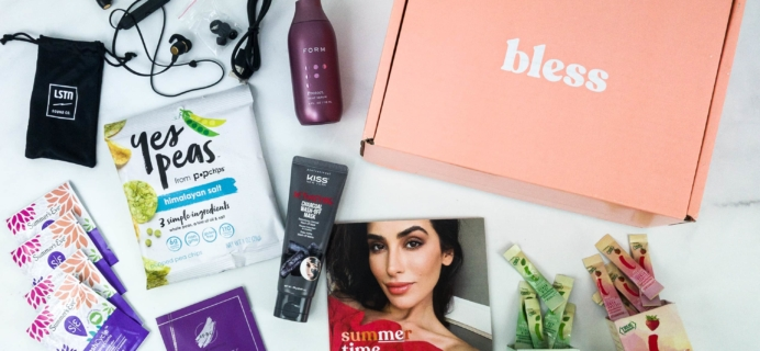 Bless Box July 2019 Subscription Box Review & Coupon