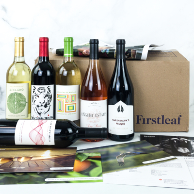 Firstleaf Wine Club August 2019 Subscription Box Review + Coupon
