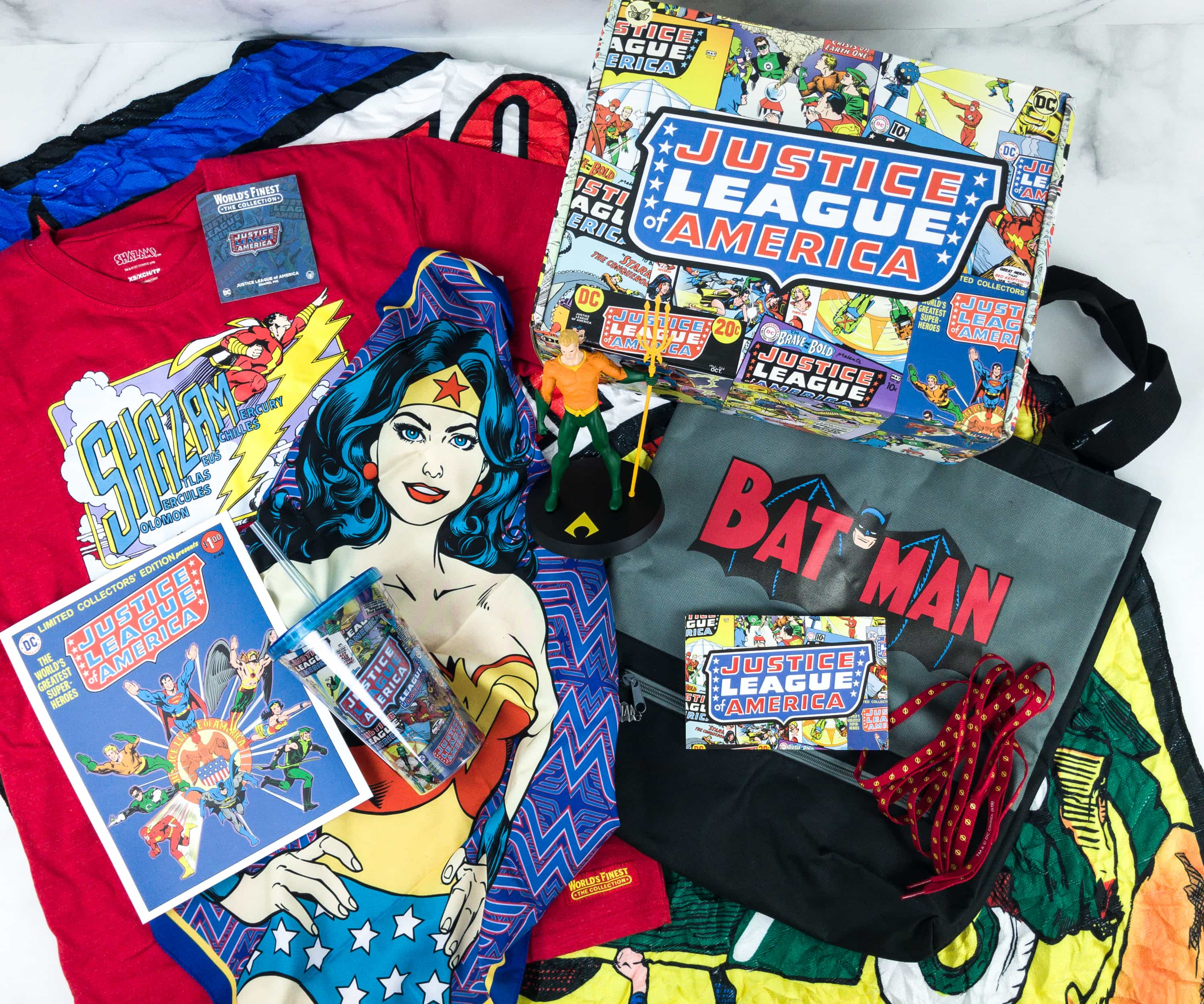 DC Comics World's Finest: The Collection Summer 2019 Box Review – RETRO JUSTICE LEAGUE