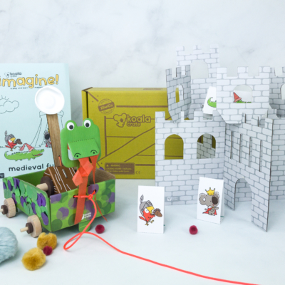 KiwiCo Koala Crate MEDIEVAL FUN Subscription Box Review & Coupon