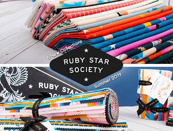 Fat Quarter Ruby Star Society Quarterly Club Available Now!