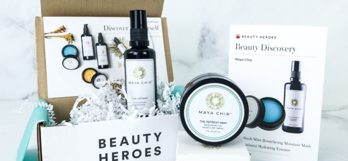 Beauty Heroes August 2019 Subscription Box Review