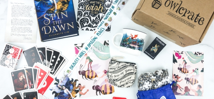 OwlCrate July 2019 Subscription Box Review + Coupon
