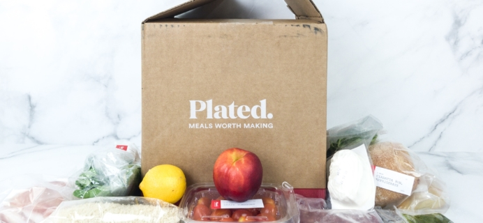 Plated August 2019 Subscription Box Review + Coupon