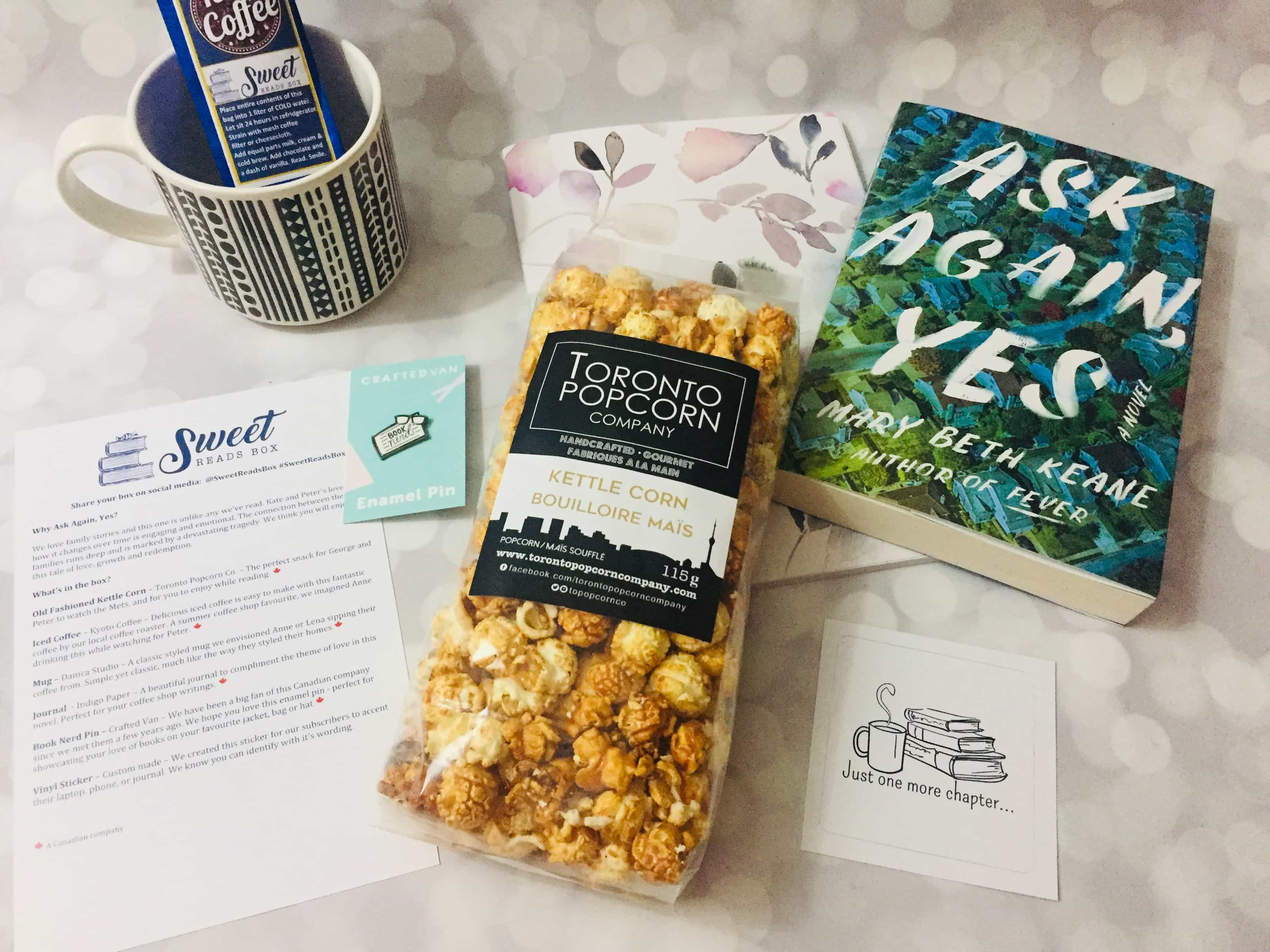 Sweet Reads Box July 2019 Subscription Box Review + Coupon
