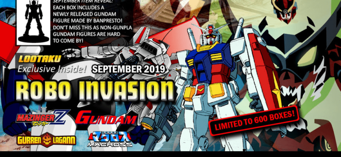 Lootaku September 2019 Theme Spoilers + Coupon!