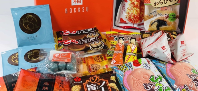 Bokksu August 2019 Subscription Box Review + Coupon