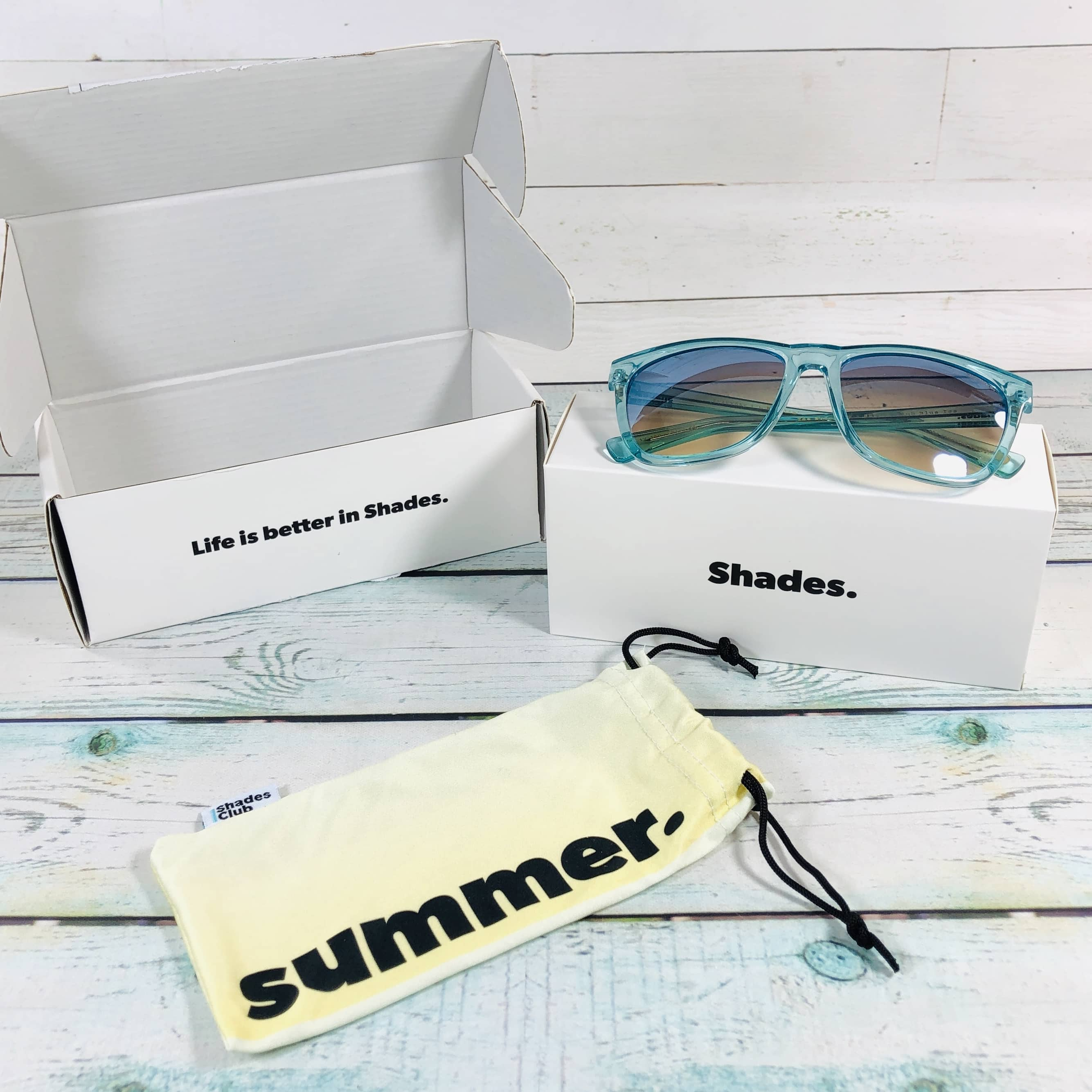 Shades Club July 2019 Subscription Box Review + Coupon