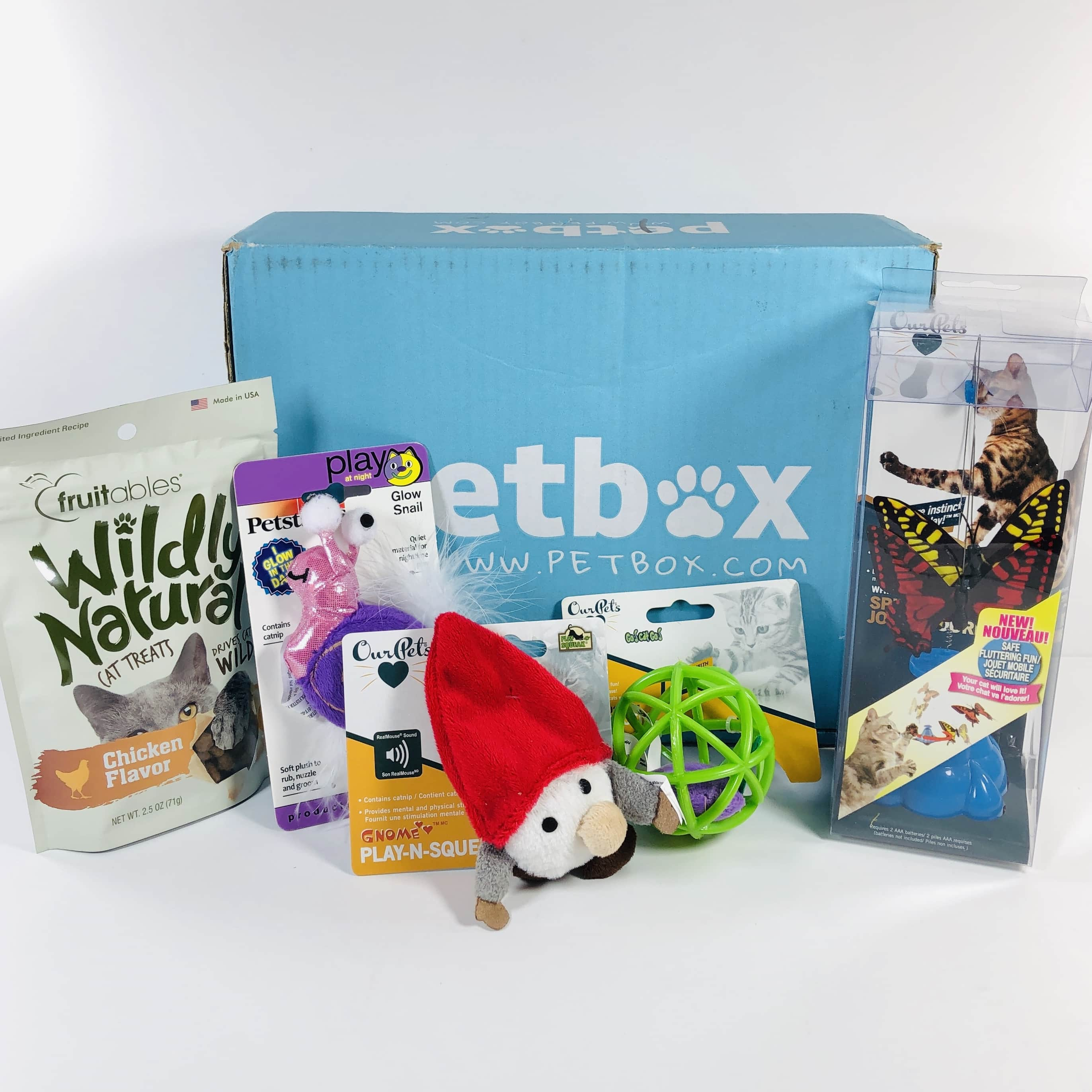 PetBox CAT July 2019 Subscription Review & 50% Off Coupon