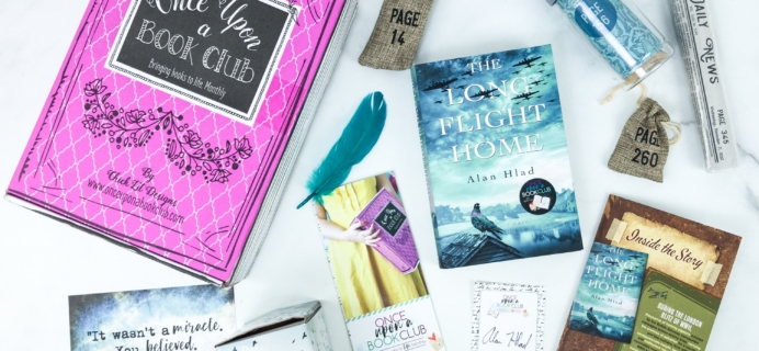 Once Upon a Book Club July 2019 Subscription Box Review + Coupon – Adult Box