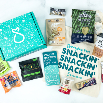 SnackSack July 2019 Subscription Box Review & Coupon – Classic