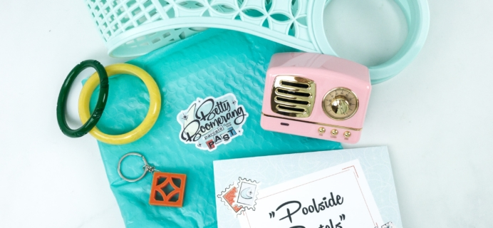 Betty Boomerang July 2019 Subscription Box Review + Coupon