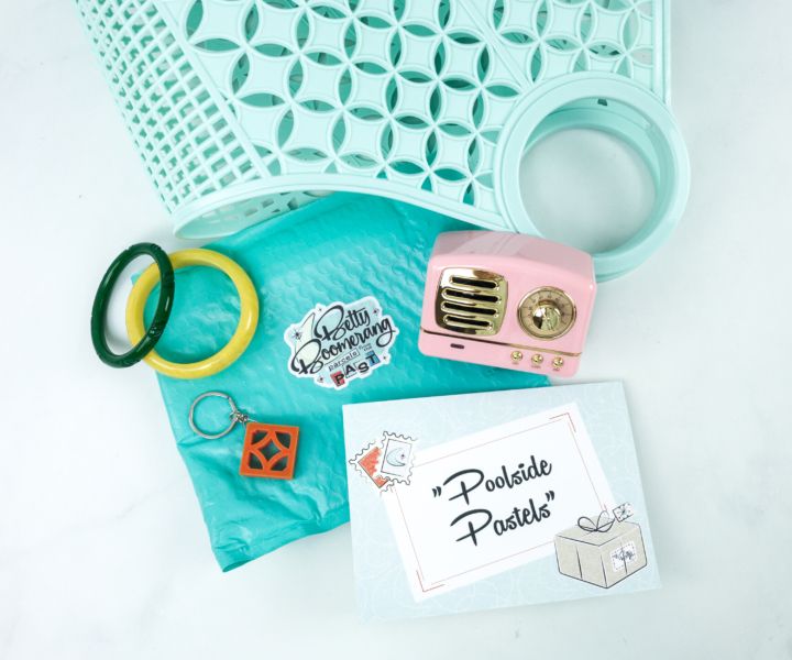 Betty Boomerang July 2019 Subscription Box Review + Coupon - hello subscription