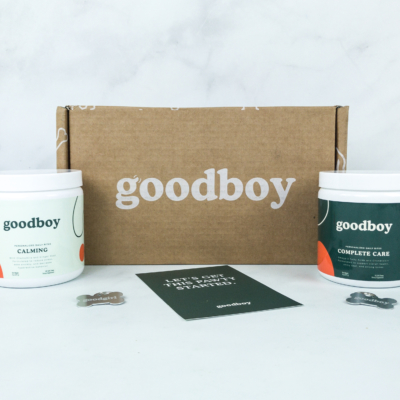 Goodboy Dog Supplement Subscription Review + Coupon