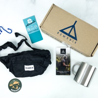 Nomadik July 2019 Subscription Box Review + Coupon