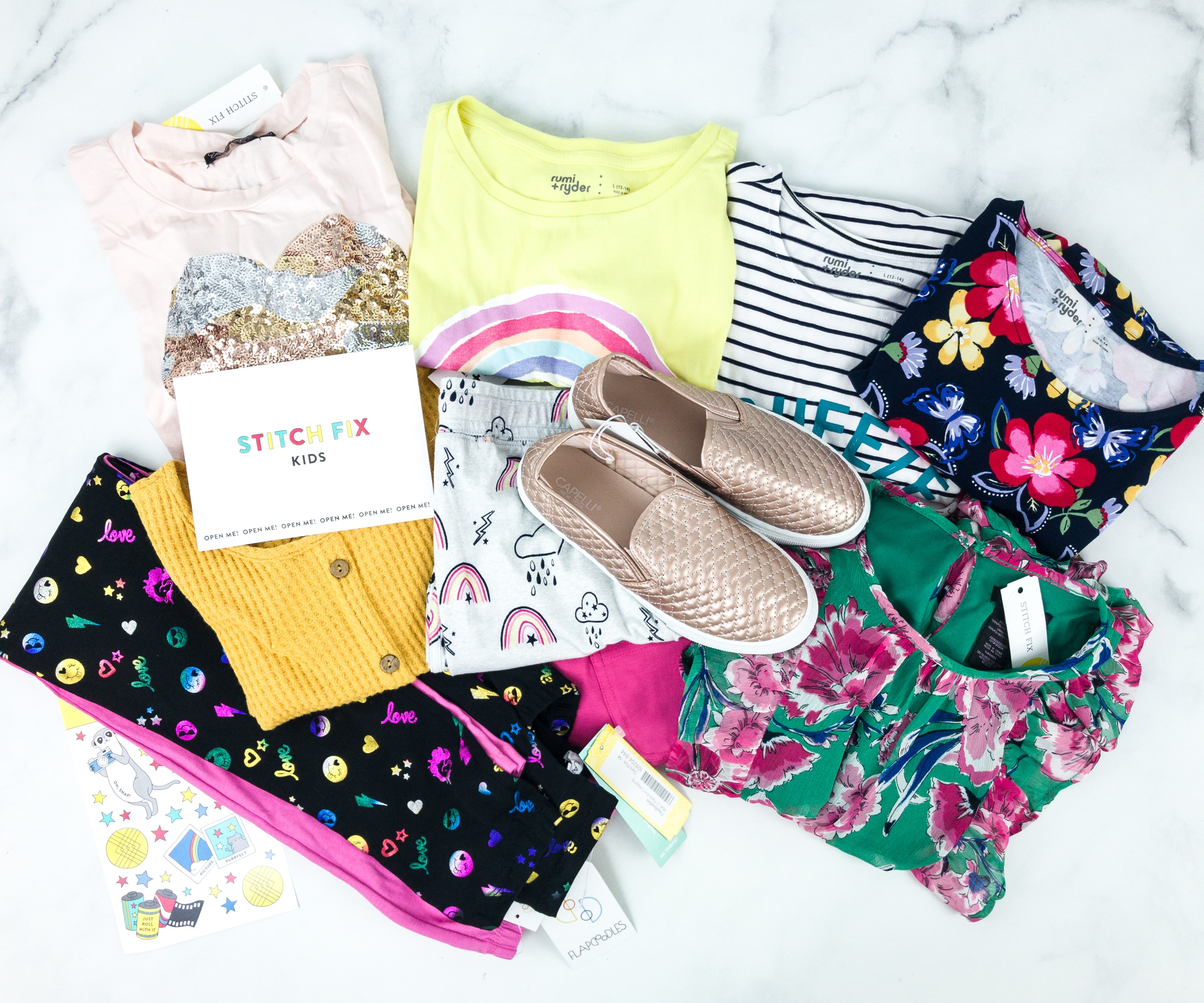 Stitch Fix Kids August 2019 Girls Review