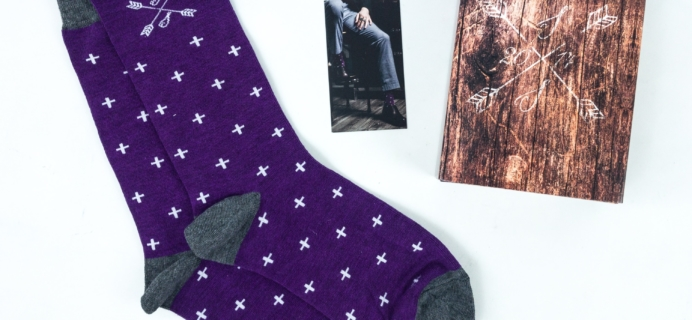 Southern Scholar August 2019 Men's Sock Subscription Box Review & Coupon