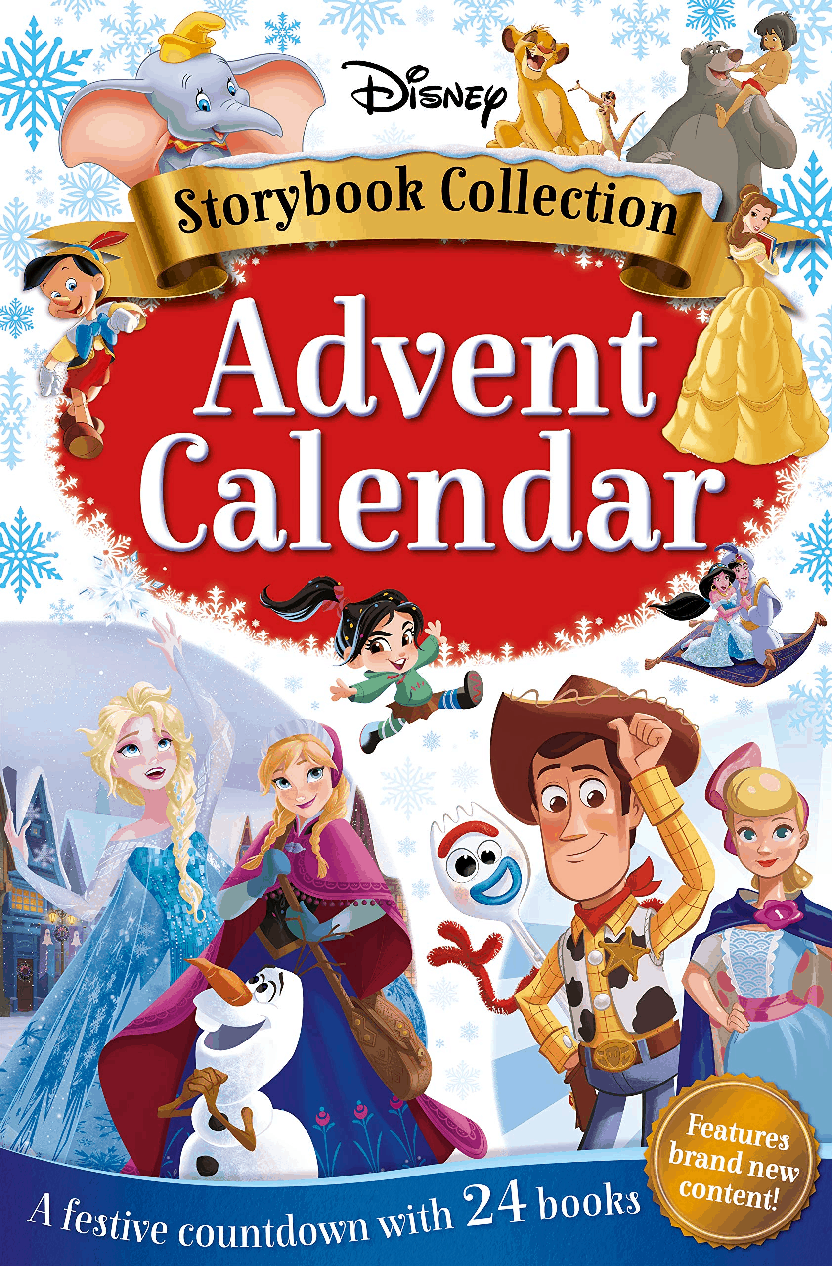 2019 Disney Storybook Advent Calendar Available For Pre-Order Now!