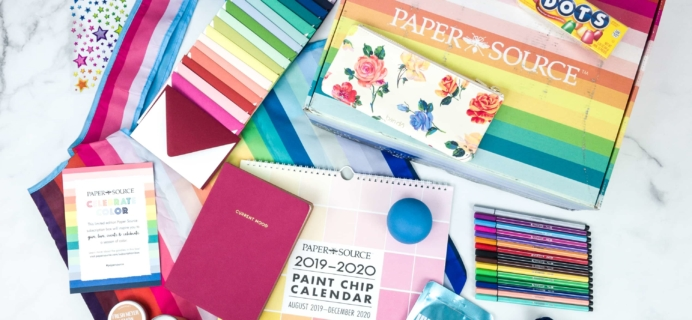 Paper Source Subscription Box Fall 2019 Review!