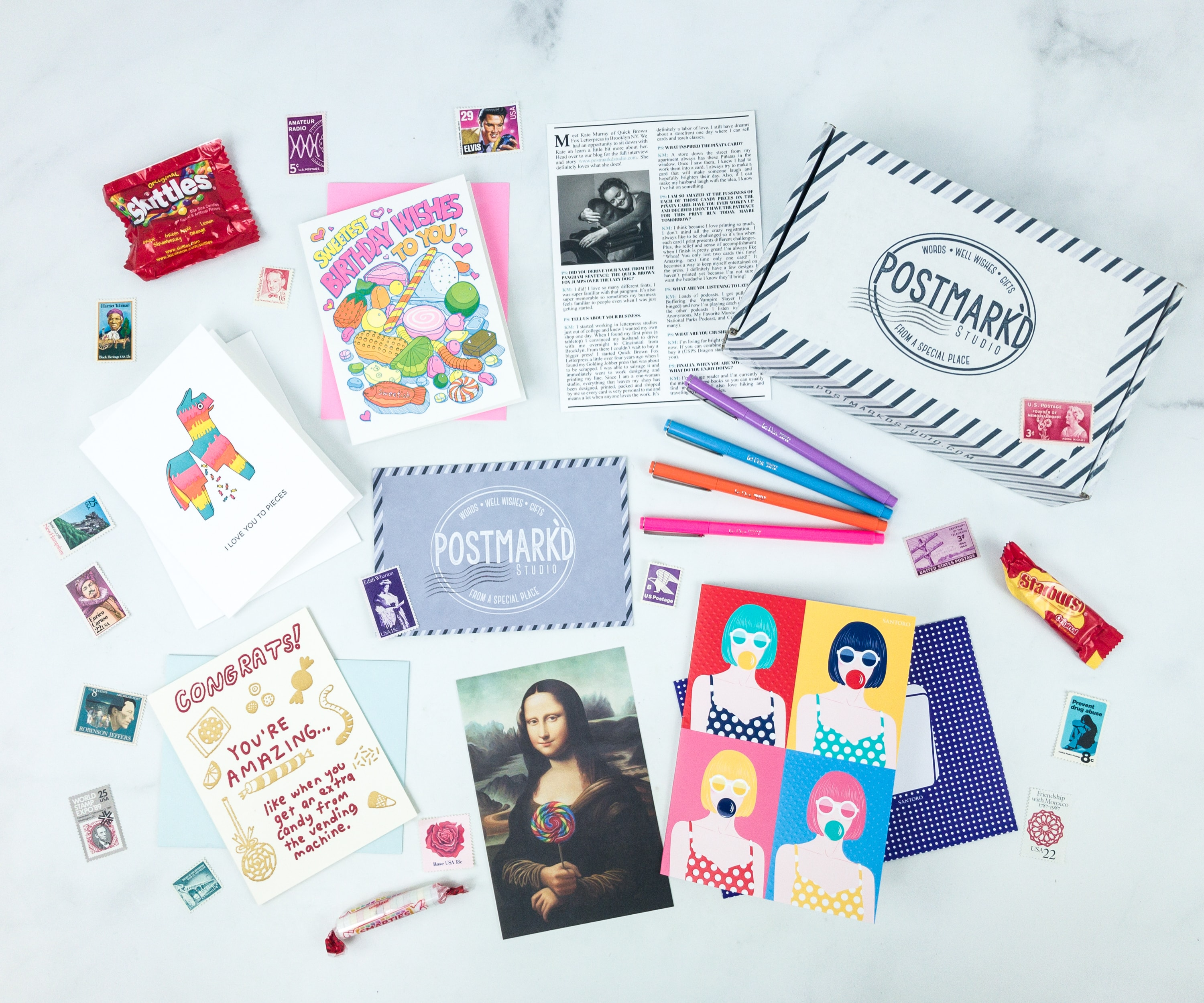 PostBox by Postmark'd Studio Cyber Monday Deal: FREE box with Prepaid Subscription!