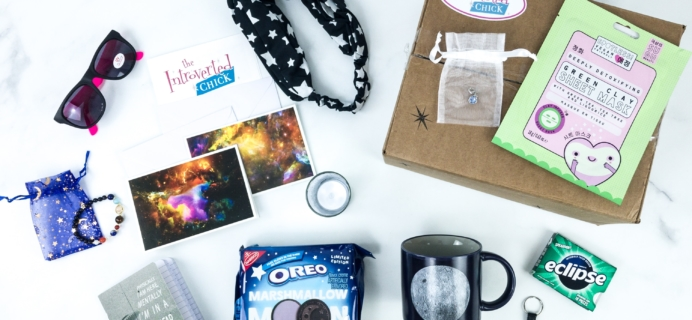The Introverted Chick August 2019 Subscription Box Review + Coupon