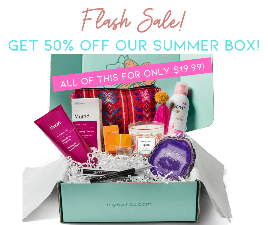 Spiritú Flash Sale: Get 50% Off – ENDS TONIGHT!